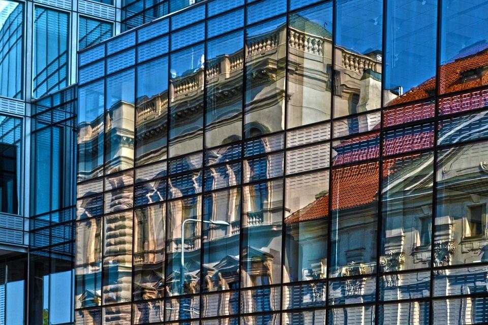 Sticla reflectorizanta